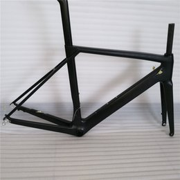 Wholesale Cheap Seatpost - Disc brake or normal brake carbon frame set include headset,clamp, seatpost, fork cheap price hot sale new carbon road bike frame