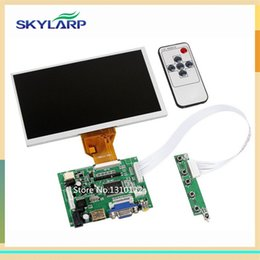 Wholesale Display Controller Board - Wholesale- 7inch Raspberry Pi LCD Display Screen TFT Monitor AT070TN90 with HDMI VGA Input Driver Board Controller