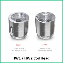 Wholesale Head Cylinders - 100% Original Eleaf HW1 Coils HW2 Coils HW1 Single-Cylinder 0.2ohm Head HW2 Dual-Cylinder 0.3ohm Head Free Shipping