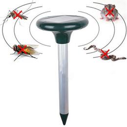 Wholesale Solar Snake Repeller - Creative Efficient Eco-friendly Solar Powered Outdoor Garden Yard Ultrasonic Sonic Mole Vole Snake Rodent Pest Repeller