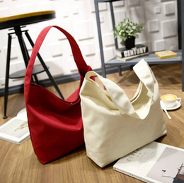 Wholesale Wholesale Bags Cheaper - New ! Hot Cheaper High Quality Canvas Bags Woman Fashion Shoulder Bags Designer Handbag Large Capacity Bag FA034