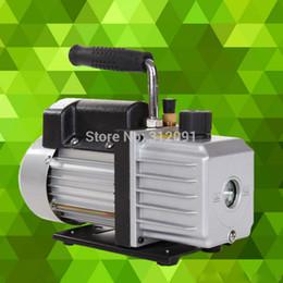 Wholesale Rotary Vane Air Pumps - (Ship from Germany) Single-stage Pump Vacuum Pump 3CFM 1 4HP Rotary Vane Deep HVAC Tool Air AC R410a R134 Refrigerant
