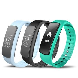 Wholesale Kids Heart Bracelets - New IWOWN i6 HR Sport Smartband Bracelet with Fitness Tracker Call Message Heart Rate Monitor Smart Band Wristband Bracelet