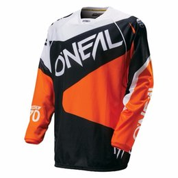 Wholesale Shirt Anti Uv - Downhill Bike and Off-road Motocross racing shirt 2017 Sale long sleeve cycling Jersey DH MX MTB clothes maillot de ciclismo