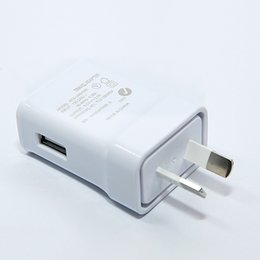 Wholesale Apple Pc Tablets - Australia New Zealand Plug Fast Steady True 2A Charger for iPhone Samsung Huawei Xiaomi Smart Phone Tablet PC Travel Desktop Wall Adapter