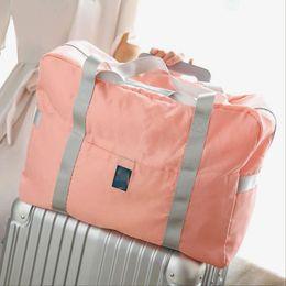 Wholesale Animal Print Storage - Women Nylon Travel Nylon Bag Waterproof folding Makeup Storage Pouch Case Organizer bag