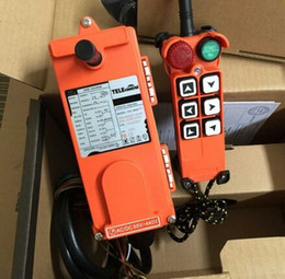 Wholesale Hoist Crane Radio Control - Wholesale- F21-E1(1 transmitter and 1 receiver)6 buttons 1 Speed Hoist crane remote control wireless radio industrial remote control