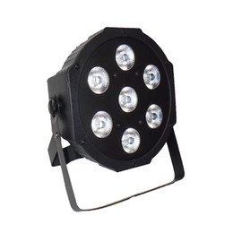 Wholesale Mastering Sound - American DJ Flat SlimPar Quad 7 RGBW Color Mixing LED Flat Par 7x12W RGBW Lighting Fast Shipping