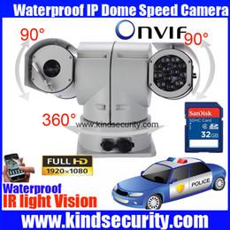 Wholesale Vehicle Surveillance - 2MP high speed PTZ IP vehicle Camera ONVIF 1080P SD card vehicle security video surveillance pan tilt camera 36X zoom with wiper