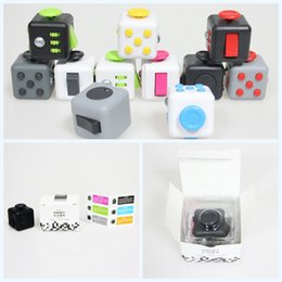 Wholesale color New Fidget Cube The World s First American Original Decompression Anxiety Toys Free DHL shipping