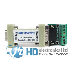 Wholesale rs232 serial cables - Wholesale- RS-232 RS232 serial to RS485 RS422 485 422 Converter