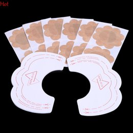 Wholesale Bras Lift - 6 Pairs Nipple Cover Lift Up Beauty Women Invisible Breast Lift Tape Stick on Bra Sticker Strapless Bra Enhance Nipple Covers Lift 1966