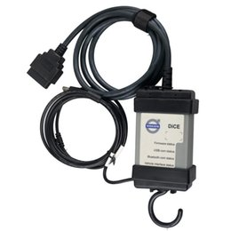Wholesale Volvo Dice Free Shipping - DHL Free Shipping For Volvo Dice 2014D Super Dice Pro+ Diagnostic Communication Equipment forvolvo vida dice With Multi-language