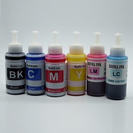 Wholesale Refill Ink Ciss - 70ml T0481 UV DYE INK For Epson Stylus Photo R200,R220,R300,R320 Printers Bulk ink and Refill Ink for T0481 CISS System