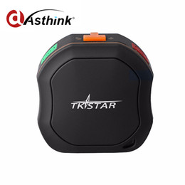 Wholesale Battery Cars For Kids - 2017 Top Sale Long Battery Life Waterproof Mini Anti GPS Tracker Device For Car vehicle Pet Dog Cat kid oldman Add Overspeed alert