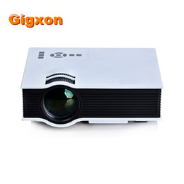 Wholesale 3d Projector Shipping - Wholesale- Free Shipping UC40 Compatible Full HD Home Portable Projector Mini Pico proyector 3D USB HDMI para cine en casa beamer proyector