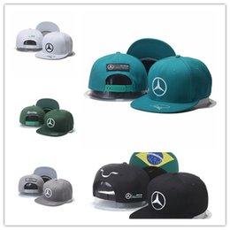 Wholesale Automobile Race - Top Sale 2017 new cap Lewis Hamiltons Signature Edition snapback hat Champion Racing sports Baseball chapeau Automobile