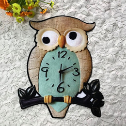 night clothes motorcycle Canada - 20pcs Cartoon Night Owl Embroidered Iron On Patch For Clothing Patches Jacket Patches parches Motorcycle Fabric Patchwork Badge Appliques