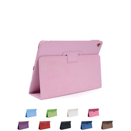 Wholesale Leather For Sale China - Hot Sale Leather Wallet Stand Flip Case Smart Cover for New iPad 2017 Pro9.7 inch
