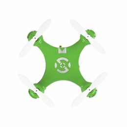 Wholesale Wholesale Drone Copter - Wholesale- CX-10 RC Helicopter 4 Channel 6 Axis Gyro CX10 mini drone 360 Degree remote control toys copter
