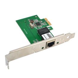 Wholesale Rj Wireless - Wholesale- 2016 New Gigabit Ethernet PCI Express PCI-E Network Controller Card 1000 Base-T 10 100 1000Mbps RJ45 RJ-45 LAN Adapter Converter