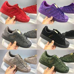 Wholesale narrow fabrics - 2017 Originals Superstar shoes Hologram Iridescent Junior superstar sapatos Pride Sneakers Super Star Women Men Sport Casual Shoes 36-44