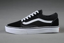 Wholesale Wholesale Suede Lace - 2018 Big Kids Boys and girls Old Skool Suede VS Canvas Shoes casual Flats Athletic Outdoor Sneakers Sneakers Training Shoes Skateboard shoes