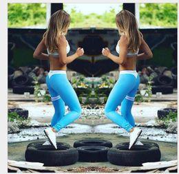 Wholesale Drop Ship Sport Pants - 2017 Sexy Skinny Push Up Sporting Leggings Women Gothic Print High Waist Elastic Pants Workout Fitness Legging Free Drop Shipping 8 Colors