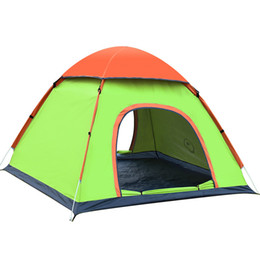 Wholesale Blue Awning - Auto Camping Instant Tent Outdoor Hand Tossed Lounge Tent Blue Bright Green Colors Fashion Design For Camping