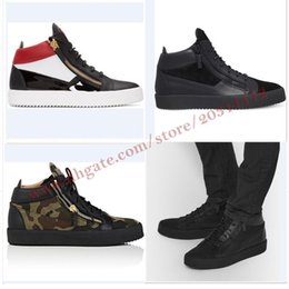 Wholesale Thick Soled Shoes For Women - 7 styles Mixed color leather Mid-top sneakers High quality formal mens shoes italian luxury brand Thick soles, non-slip footwear for women