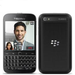 Wholesale Core Classic - Original Unlocked Blackberry Q20 Classic 3.5 Inch 16GB ROM 2GB RAM 4G LTE 8MP Dual Core Bluetooth WIFI Smartphone