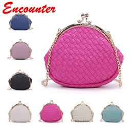 Wholesale Bags Mom - Encounter 2 Size PU Leather Shoulder Bags for Children's and Mom Baby kids Mini Coin Purse Teenagers Messenger bag Girls Small bags EN032