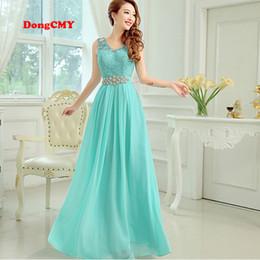 Wholesale Simple Elegant Dress Designs - New 2018 fashion formal long design elegant party vestido longo robe de soiree gown evening dress
