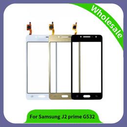 2019 оптовые телефоны для повышения 5.0 дюймов G532 дигитайзер для Samsung Галактика J2 в Премьер-SM-G532F G532F G532M G532 сенсорный экран панели датчик объектив стекло белый черный