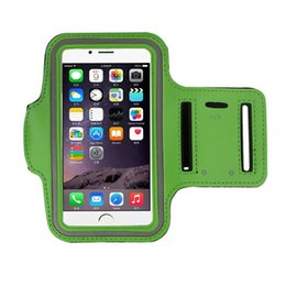 Wholesale Jogging Cell Phone Holder - WaterProof Sports Armband Case With Key Holder for iPhone 7 Plus 6 6S Plus 5 5S Running Jogging Workout Pounch For Cell Mobile Phone