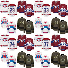 Wholesale Ken Dryden Jersey - Men's Montreal Canadiens 29 Ken Dryden 33 Patrick Roy 74 Alexei Emelin 77 Pierre Turgeon Red Home away 2016 Winter Classic Jersey