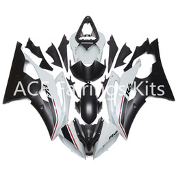 Wholesale Injection Yamaha R6 - 3 gift New Fairings For Yamaha YZF-R6 YZF600 R6 08 15 R6 2008-2015 ABS Plastic Bodywork Motorcycle Fairing Kit Black white cool style