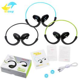 Wholesale Dacom Bluetooth Headset - Dacom Athlete Bluetooth headset Wireless sport headsfree headphones stereo music earphones fone de ouvido with microphone & NFC