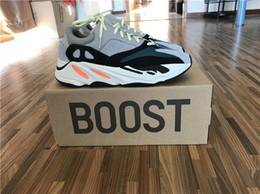 Wholesale Arts Shops - 700 Boost Y Boost 700 Kanye West Wave Runner 700 Sneakers Athletic Sneaker with Original box sports shoes fashion sneaker Online Shop