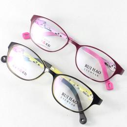 Wholesale Eyeglasses Frame Kids - Kids Glasses Eyewear Frames Children Glasses Girls Eyeglasses Boy Spectacles TR90 Material Durable Cute Plano Demo Lense Optical Vision Care