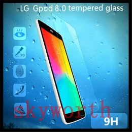 Film de protection d'écran en verre trempé 9H pour tablette LG G Pad F 8.0 7.0 V400 8.3 V500 10.1 V700 ? partir de fabricateur