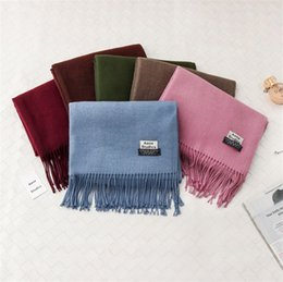 Wholesale Mic Ladies Fashion - High quality low price free delivery MIC mixed Pashmina anti-cashmere shawl lady scarf soft scarf Size: 180 * 70 cm