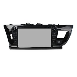 Wholesale Dvd Corolla Touch Screen - New 9inch Android 5.1 Car DVD player for Toyota Corolla left with GPS,Steering Wheel Control,Bluetooth, Radio