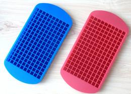 Wholesale Heart Shaped Ice Cube Trays - Ice Maker Mold 160 Grid Cube Diamond Square Shape 150 Grid Lover Heart shape Silicone Mini Ice Cube Tray Mold Ice Chocolate Baking