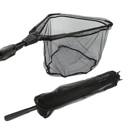 Wholesale Landing Nets - Goture Aluminum Folding Fishing Net Different Size Landing Net With Extending Telescoping Pole Multifilament Hand Net