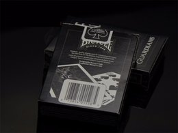Wholesale Bicycle Deck Cards - 1 Deck Bicycle Guardians Playing Cards By Theory11 Black Magic Cardistry Deck Guardian Magic Trick Playing Card