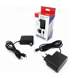 Wholesale Power Supply Game - AC Adapter Charger for Nintend Switch NS Game Console EU US Plug Charger Wall Adapter Charging Power Supply Home and Travel Use
