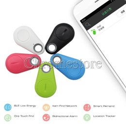 Wholesale Remote Alert - Popular Bluetooth Anti-Lost Alarm Tracer Camera Remote Shutter iTag Key Finder Alert Self-timer bluetooth 4.0 for iphone samsung Smartphones