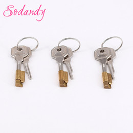 Wholesale Mens Penis Belt - SODANDY 3set Magic Lock And Keys Chastity Device Component For New Chastity Cage Mens Cock Cage Restraint Penis Stealth Locks