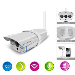 Wholesale Wireless Camera Sd Card - Vstarcam C7816WIP Onvif IP Camera Outdoor 720P Underwaterproof IP67 Network 1.0MP HD CCTV Camera Support 64G SD Card